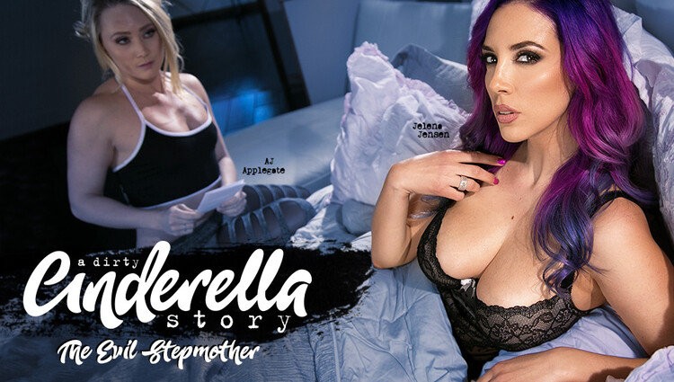 AJ Applegate, Jelena Jensen: A Dirty Cinderella Story 2: The Evil Stepmother (FullHD / 1080p / 2020) [GirlsWay]