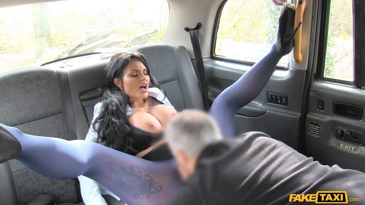 Candy Sexton: Big tits long hair and high heels (FullHD / 1080p / 2020) [FakeTaxi/FakeHub]