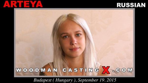 Hard - Submission day with 3 men - Arteya [WoodmanCastingX] (HD 720p)