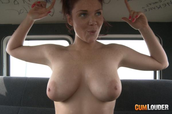 Sinning freckle face - Emma Leigh [FuckinVan / CumLouder] (SD 540p)