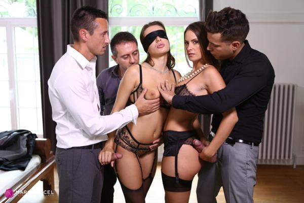 Lana Rhoades initiation by Claire - Lana Rhoades, Claire Castel [DorcelClub] (FullHD 1080p)