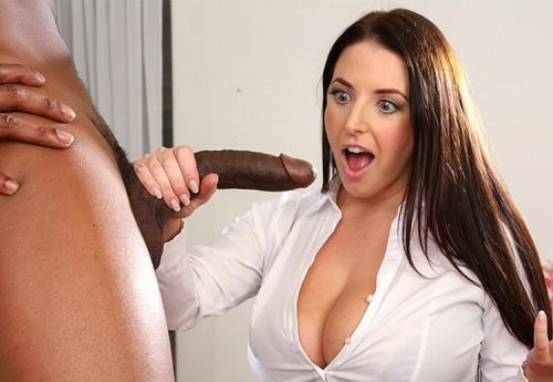 Angela White - Busty Angela Takes A BBC In Her Ass (FullHD)