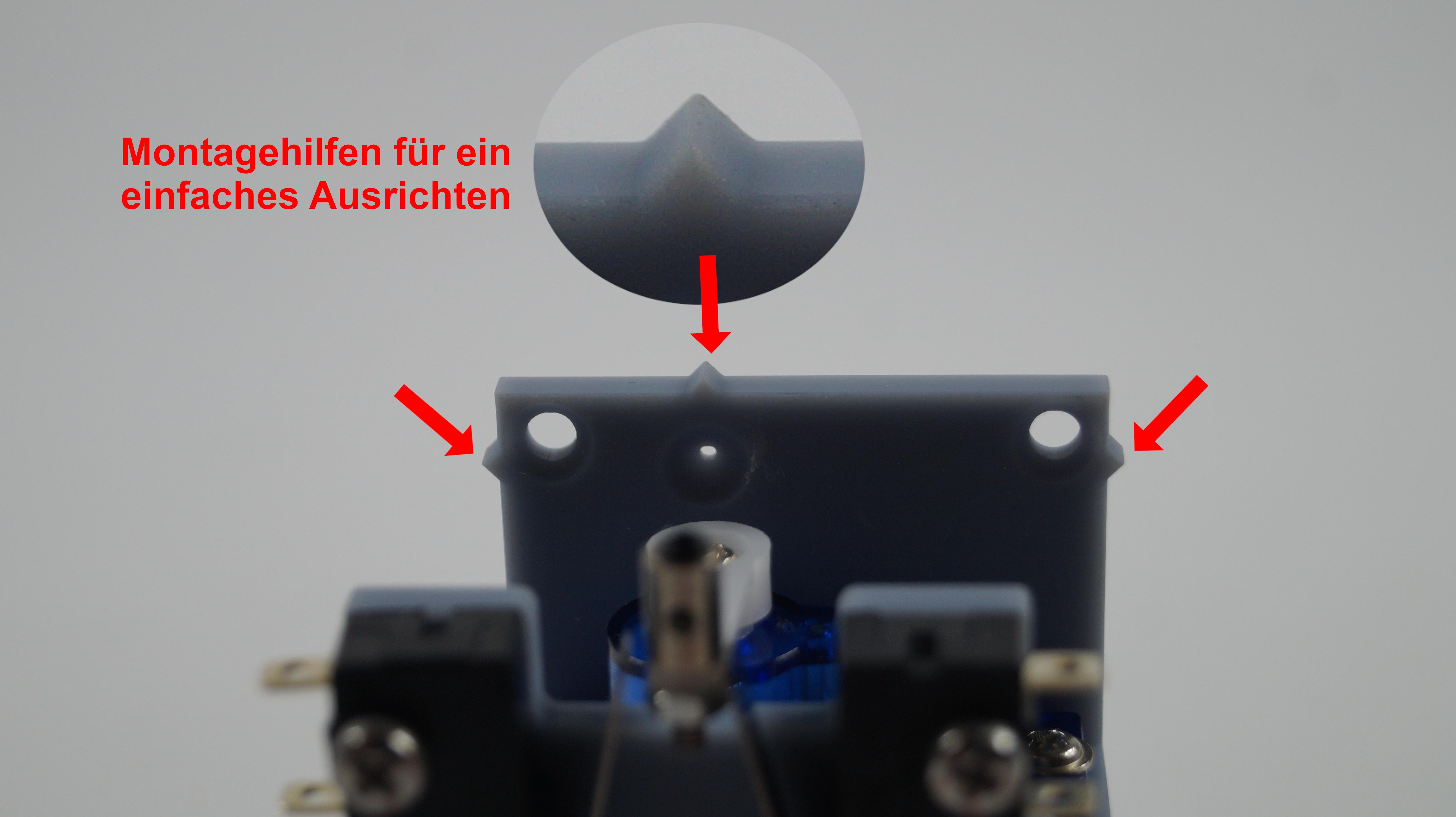 für H0 TT 1.1.1 N einbaufertig Servo Weichenantrieb Unterflurweichenantrieb